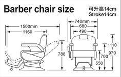 Massage barber chair salon chair/ hair salon beauty barber chair from foshan M8019