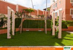 Playground do Residencial Veleiros em Parnamirim/RN. Condomínio fechado da MRV Engenharia.