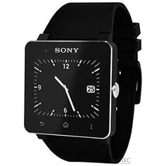 Buy Sony SmartWatch 2 SW2 Bluetooth For Android Cell Phone Watch W/ Strap - Black NEW for 135 USD   Reusell