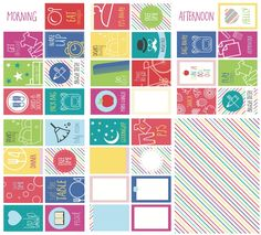 Routine Cards – Morning and Afternoon
