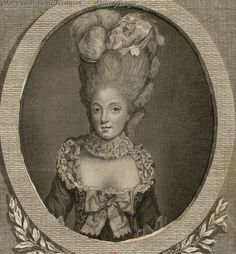 Madame Elisabeth, sister of Louis XVI.
