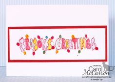 =A Crafty Cat; Stampin' Up! Christmas