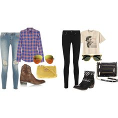 """""""Cowboy Chic"""" by haute-turntable on Polyvore"""