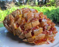 Cheddar Bacon Ranch Bread (aka Crack Bread)
