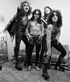KISS (Gene Simmons; Peter Criss; Ace Frehley; Paul Stanley)