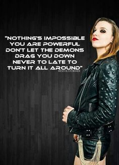 Lzzy Hale ✾ of Halestorm Music Is Life, My Music, Billy Talent, Lzzy Hale, Mayday Parade Lyrics, Lyrics To Live By, The Amity Affliction, Halestorm, Music Pictures