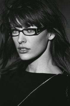 #Atribute to Frames: The Emporio Armani Fall/Winter 2003 eyewear campaign featuring Milla Jovovich. See the dedicated article on Armani.com/Atribute