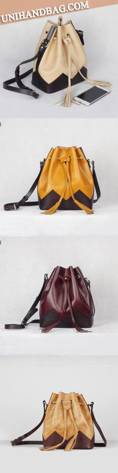 Handmade Top Grain Women's Fashion Messenger Bag Crossbody Bags Gift Leather Pur… - Women's Handbags Leather Purses, Leather Handbags, Leather Bags, Leather Satchel, Fashion Bags, Women's Fashion, Fashion Handbags, Backpack Purse, Clutch Purse