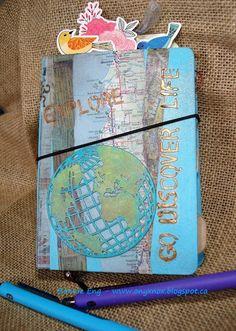 My Stuff, My Life - Simon Says Stamp Monday Challenge - Road Trip: Go discover life...