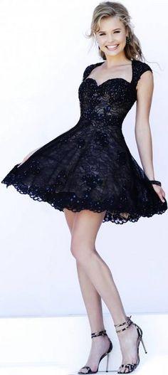 black dress  www.puddycatshoes.com