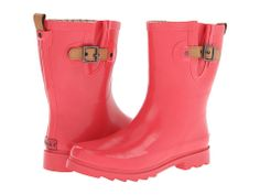 36038d0bfc2f9a Chooka top solid mid gloss poppy. Red Rain BootsWellies ...