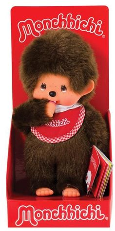 Monchhichi Classic Boy - Red - Classic toys from the and Vintage Fisher Price, Vintage Toys 80s, 1970s Toys, Retro Toys, 1980s Childhood, My Childhood Memories, Beanie Babies, Monkey Doll, Strawberry Shortcake Doll