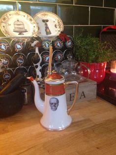 My beautiful coffee pot by melody rose ceramics