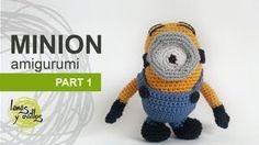 Tutorial Minion Amigurumi Part 1 (English subtitles) Crochet Bob, Diy Crochet And Knitting, Crochet For Kids, Crochet Dolls, Minion Crochet Patterns, Amigurumi Patterns, Knitting Videos, Crochet Videos, Tutorial Amigurumi