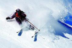 skiing...powder