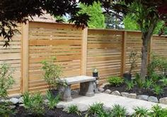 deck rail ideas- I think I would like this for our fence around the back yard! ;-)