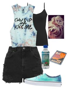 """""""Vans Warped tour"""" by nomi-clarke ❤ liked on Polyvore featuring Topshop, BKE core, Element, Vans and ADAM"""