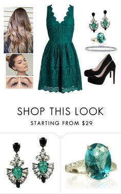 """""""Silent Green"""" by teodoramaria98 ❤ liked on Polyvore featuring De Siena, The World Is Your Oyster and BERRICLE"""