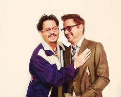 johnny depp and robert downey jr friends - Поиск в Google