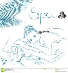 massage illustration - Поиск в Google