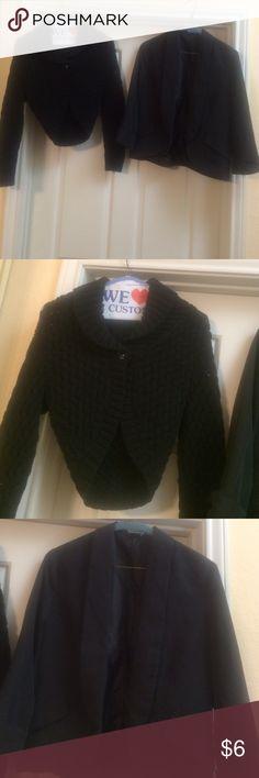 Buy express sweater & get Blazer free Gently worn, sweater size small, Blazer size 2 Sweaters