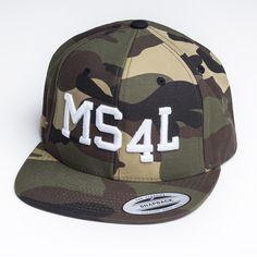 MS4L Snapback Cap im Camouflage Style