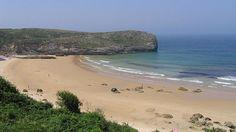 Playa de Ballota en Asturias