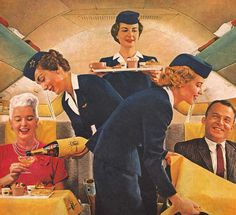 Extra hands assure extra luxuries - Delta Airlines