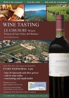 Wine tasting at Le Chuisure is an event that I have attended many times. If you are in the area on a Wednesday evening and you are a wine lover then it is an event not to be missed. Alessandro provides a fantastic insight in to the wine making process and then lets you taste his excellent wines in h