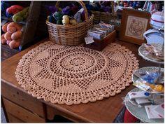 Lovely crochet doily