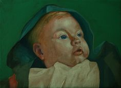 Portrait of a baby 2012, acrylic on canvas. Prints from $18.75: http://www.artslant.com/ny/works/show/677942-portrait-of-a-baby