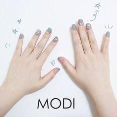Trendy Nail Art, Cute Nail Art, Gel Nail Art, Manicure And Pedicure, Cute Nails, Nail Polish, Neutral Nail Art, Korean Nail Art, Nails Now