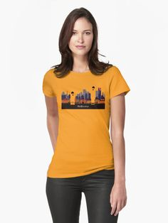 """""""Lovely Melbourne"""" T-Shirts & Hoodies by jollybirddesign 