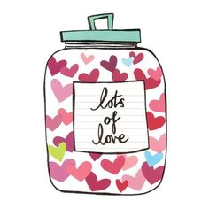 A whole jar of LOVE