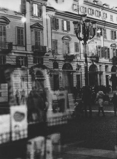 Torino. Photo taken with a Leicaflex on a Kodak 400TX black and white negative film.