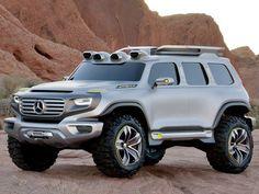 2012 Mercedes-Benz Ener-G-Force SUV Concept