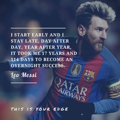 Favorite quote from Leo Messi [2048x2048]