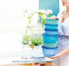 Your next meal or snack is ready and waiting in bowls that stack neatly and show you what tasty morsel is inside.   Shop online at >>  #dinner #dinnertime #dinnerdate #birthdaydinner #familydinner #mariekondo #peacefulmindpeacefullife #declutter #sparkjoy #magicoftidyingup #salad                                                                                                                                                                                                                                                                                                                                                                                                                                                           tupperwareforlife.com