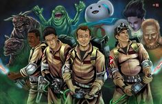 Ghostbusters by TyrineCarver on @DeviantArt