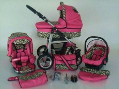 Omg I wouldnt get everything but i live the car seat Leopard print baby stuff :)