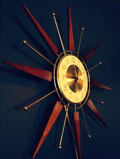 Startburst Clock