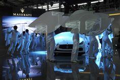 Maserati Ghibli ... peek a boo!