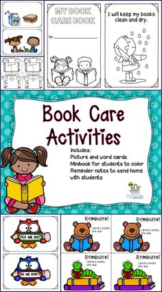 1000 Images About Book Care On Pinterest