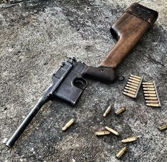 Revolver Rifle, Broom Handle, Fire Powers, Hunting Rifles, Cool Guns, Military Weapons, Guns And Ammo, Airsoft, Firearms