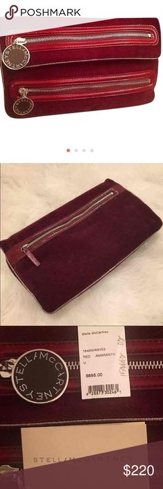 ⚡️cyber Monday⚡️Stella McCartney Clutch Reposh. Never carried, in flawless condition. Absolutely gorgeous Clutch, just never got the chance to wear! Comes with tags and attached coin purse. Stella McCartney Bags Clutches & Wristlets