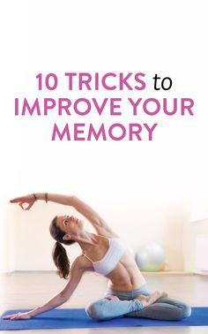 10 Helpful Tips And Tricks To Improve Your Memory Healthy Brain, Brain Health, Get Healthy, Healthy Aging, Mental Health, Health And Beauty, Health And Wellness, Health Tips, Health Fitness