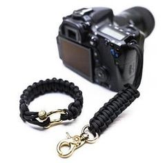 Hand Made in USA Upgraded Version /… Camera Strap w//Black Hardware by : Osiris and Co