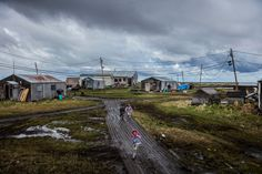 Wooden Walkways, Climate Change Effects, Photo Essay, Underworld, The Guardian, Arctic, Alaska, Earth, News