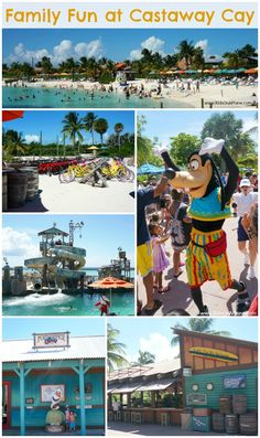 How to have a PERFECT day at the beach with Disney - a look around Castaway Cay, Bahamas - Disney's private island