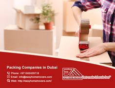 Packing Companies, Companies In Dubai, House Movers, Easy